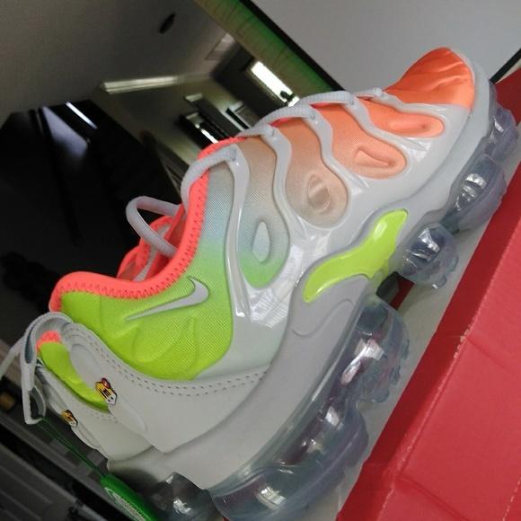 14079ae5de VAPOMAX PLUS Shoes | Nike Vapormax Plus Reverse Sunset | Poshmark